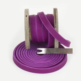 Fettleder Meterware, Violett