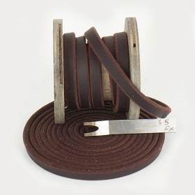 Fettleder Meterware in Chocolate