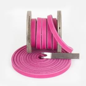 Fettlederriemen Pink 30mm
