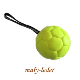 Hundespielzeug, Trainingsball mit Handschlaufe,in 2 Farben, Ø13cm